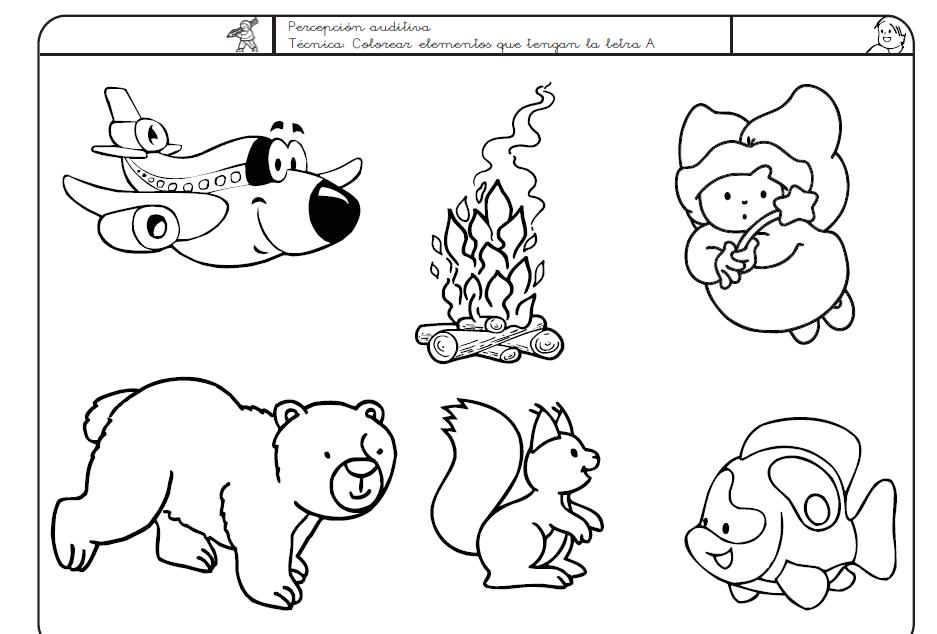 Libro de actividades escolares para niños de preescolar