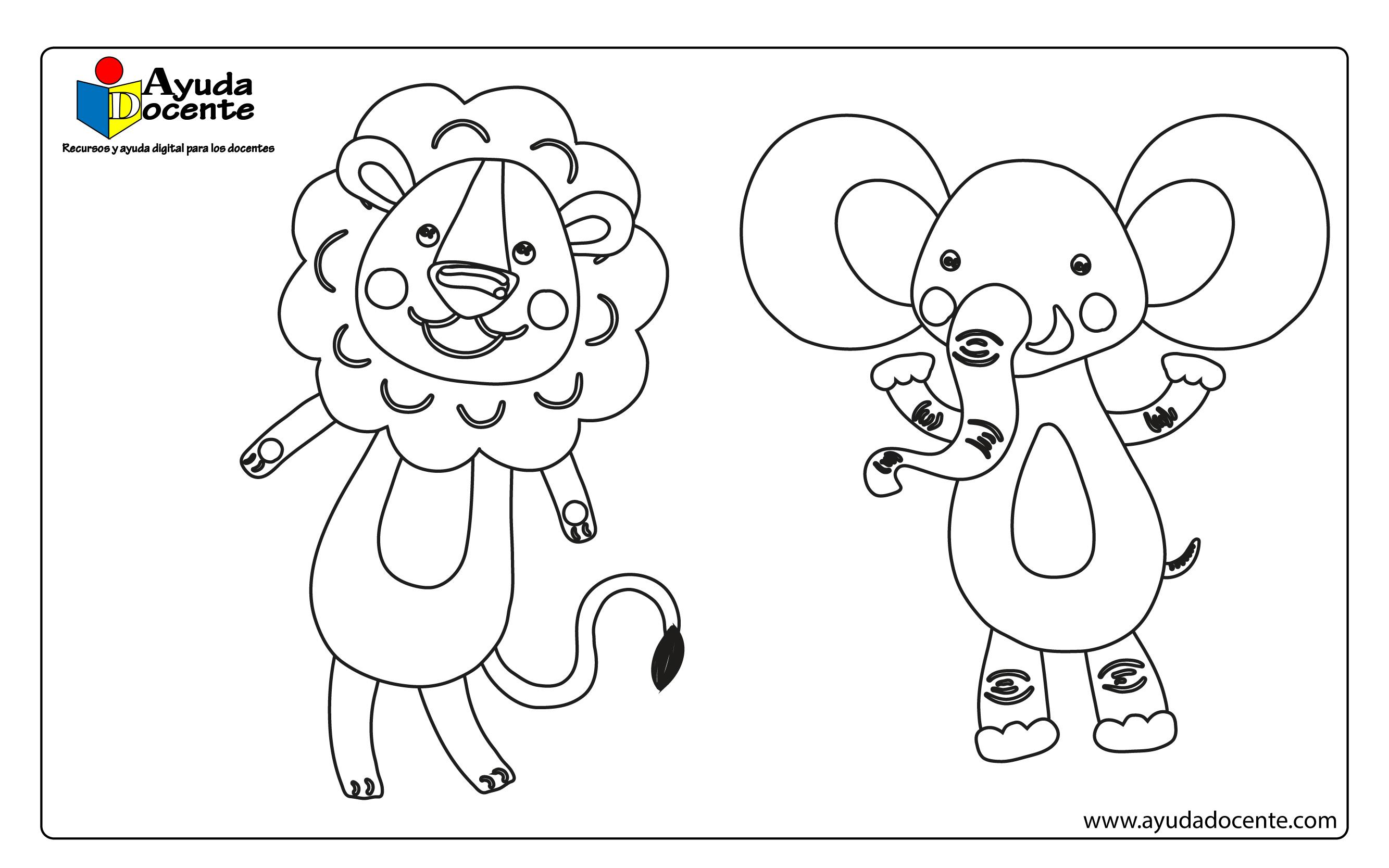 Dibujo animales 02