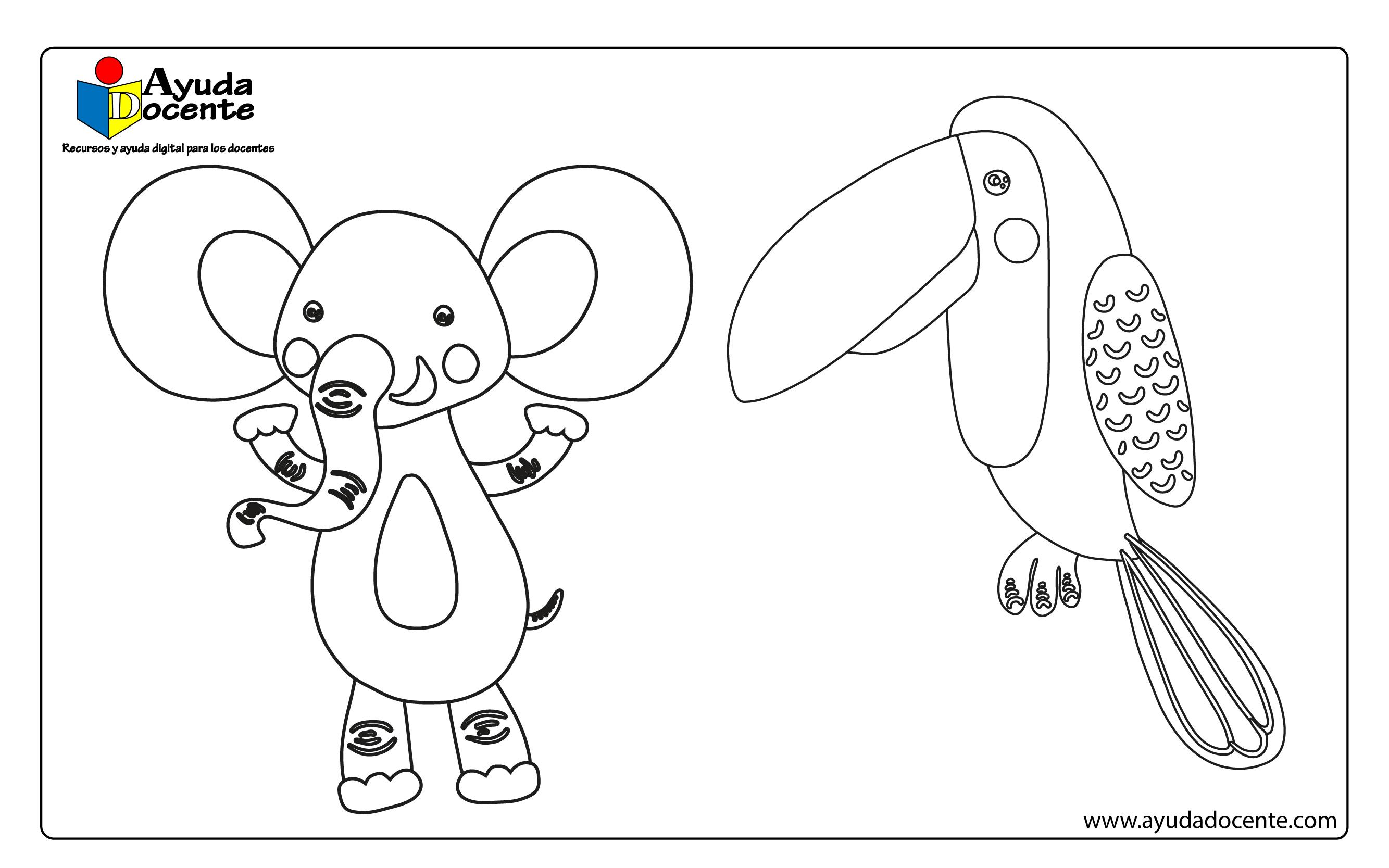 Dibujo animales 03