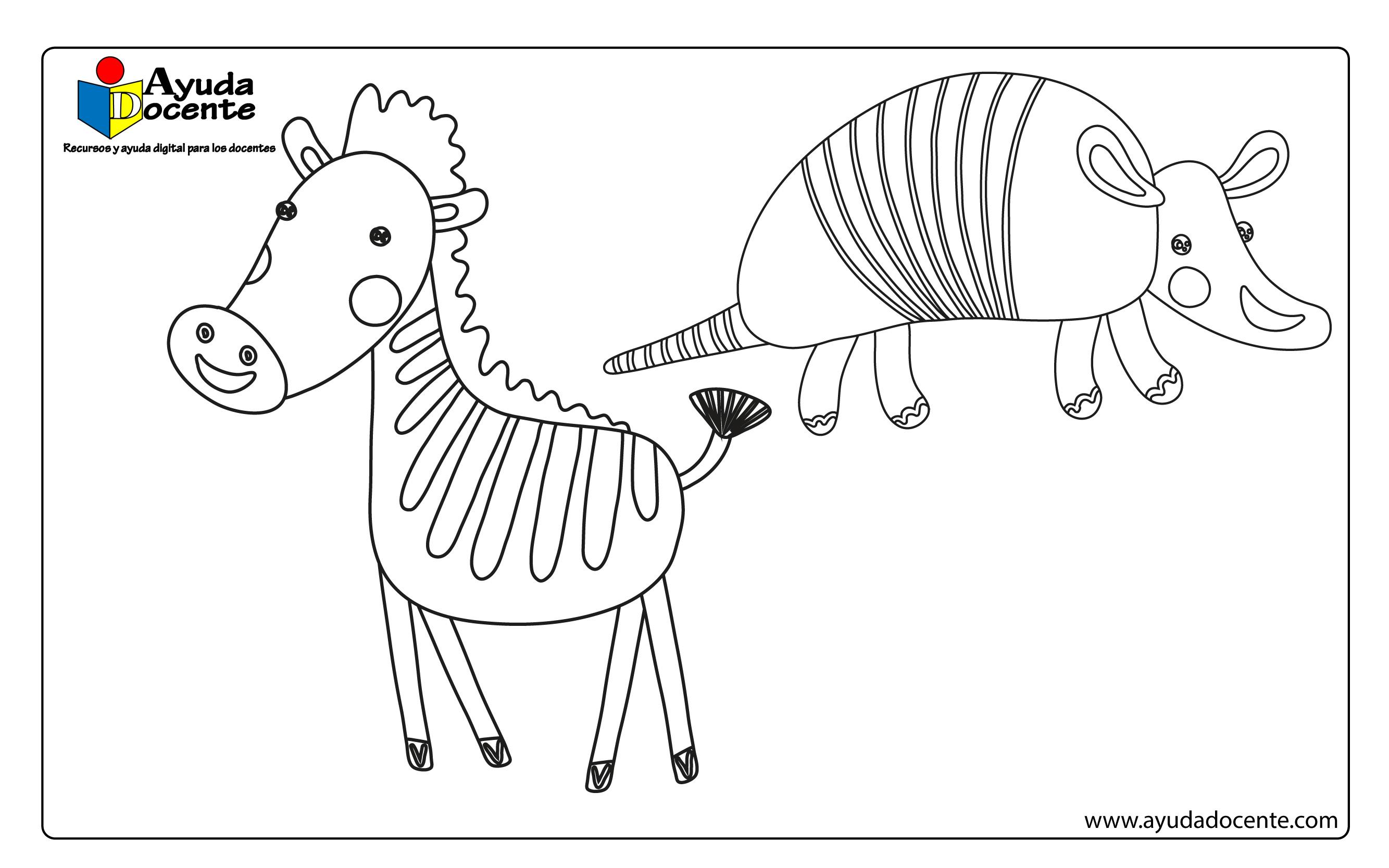 Dibujo animales 07