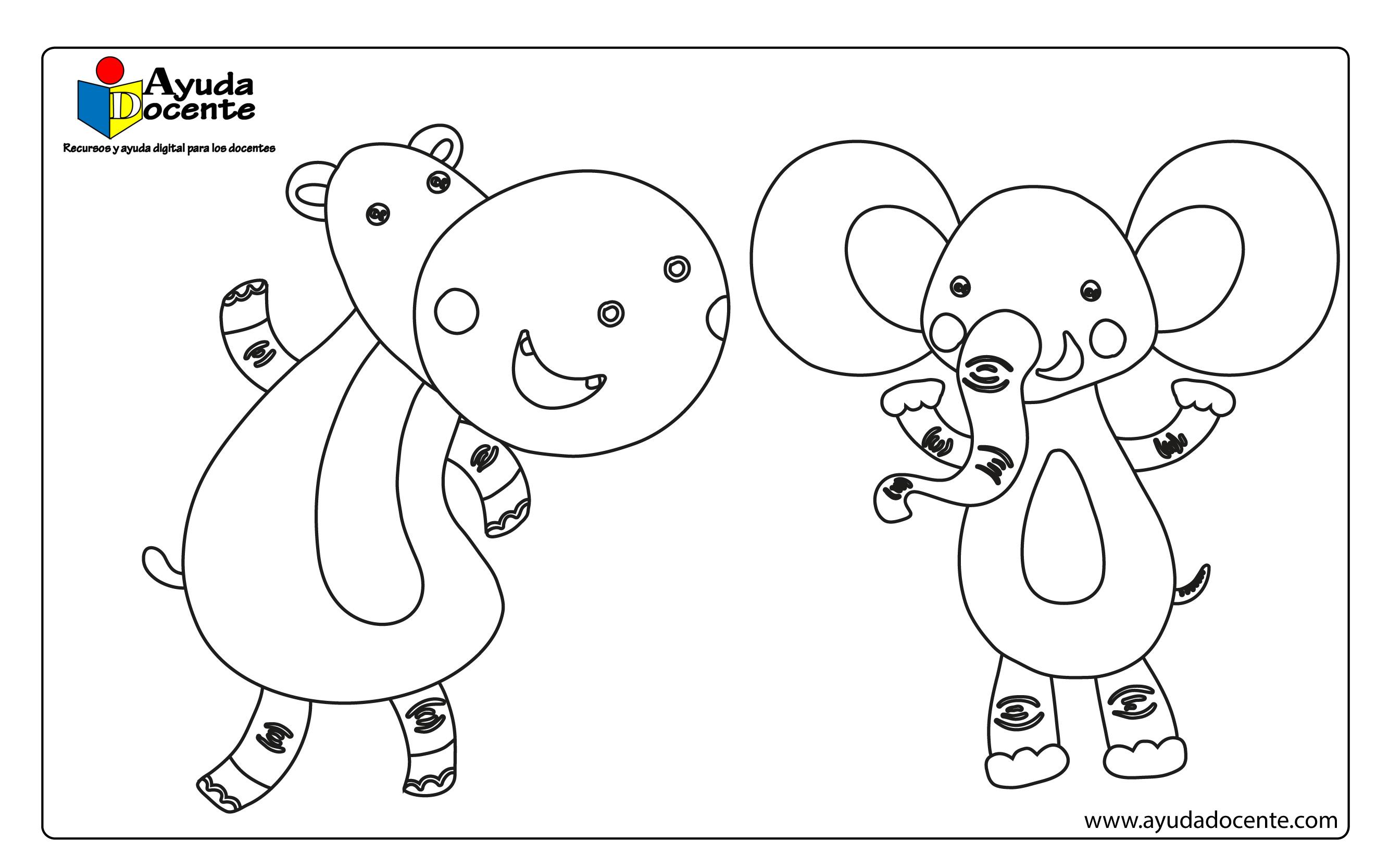 Dibujos animales 08
