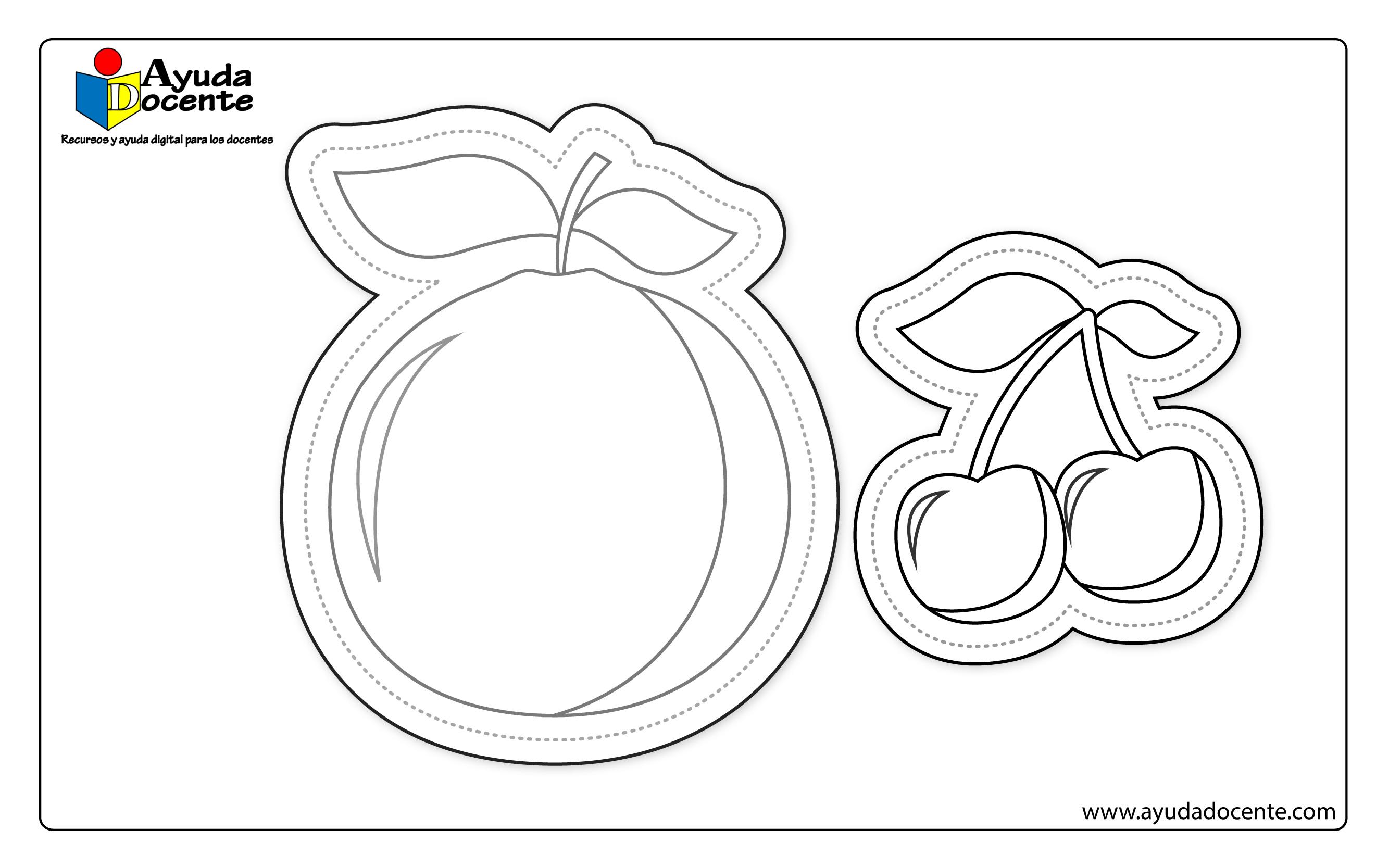 Dibujo frutas 01