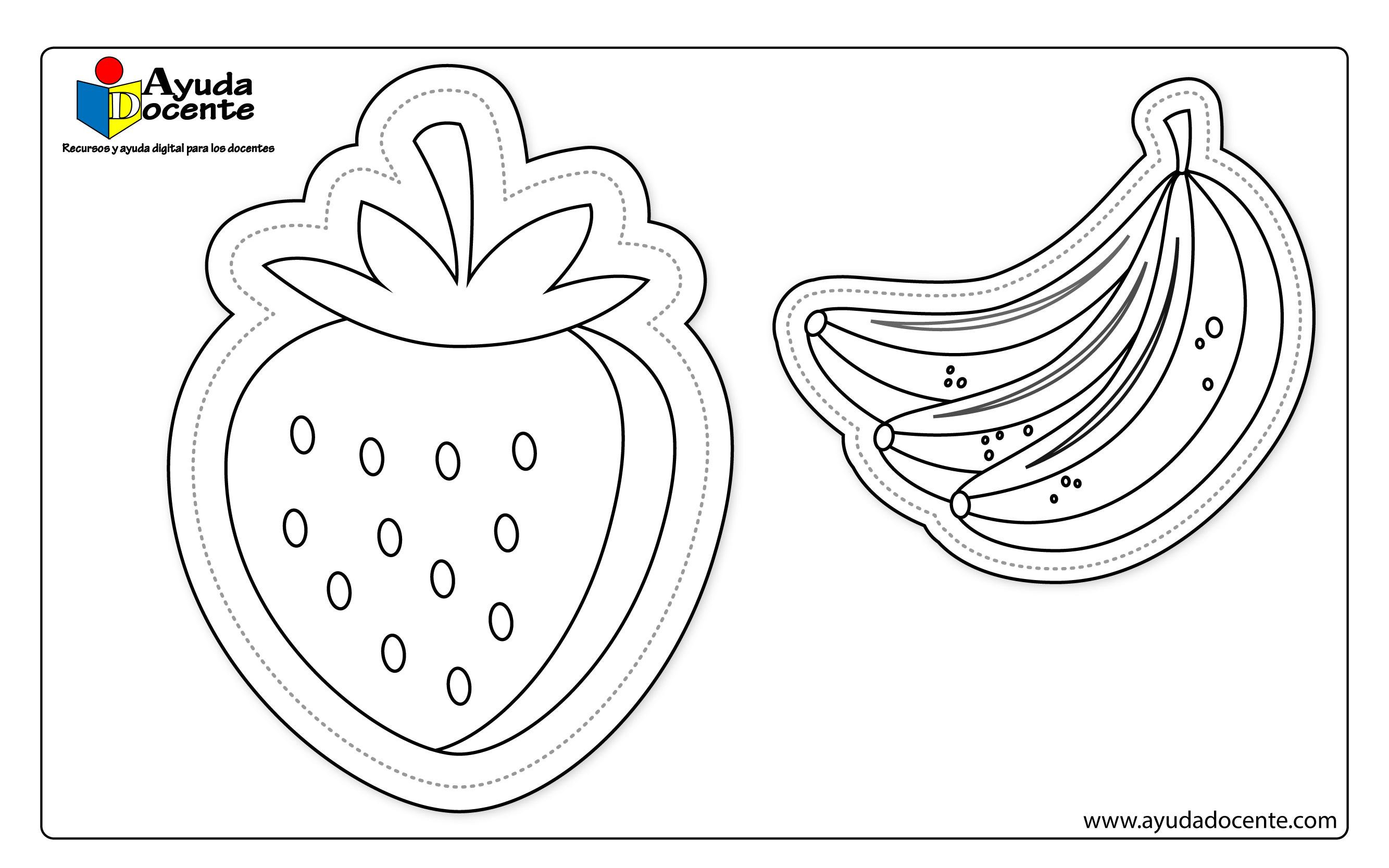 Dibujo frutas 02