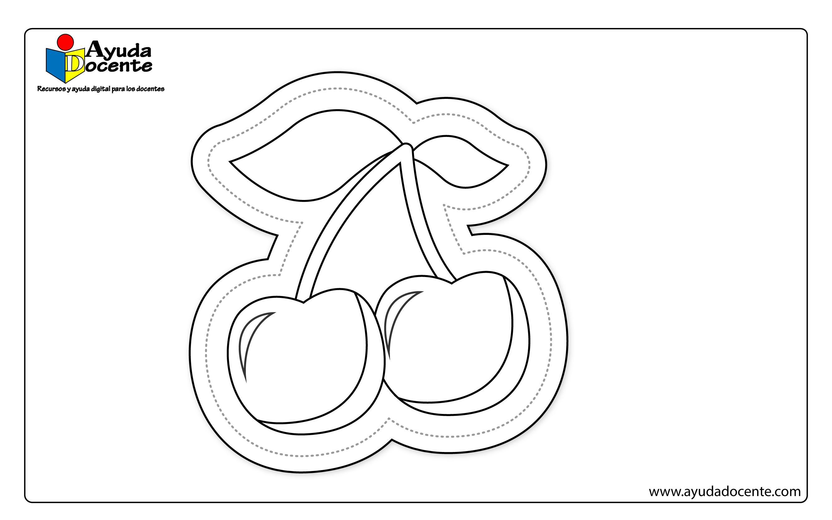 Dibujo frutas 04