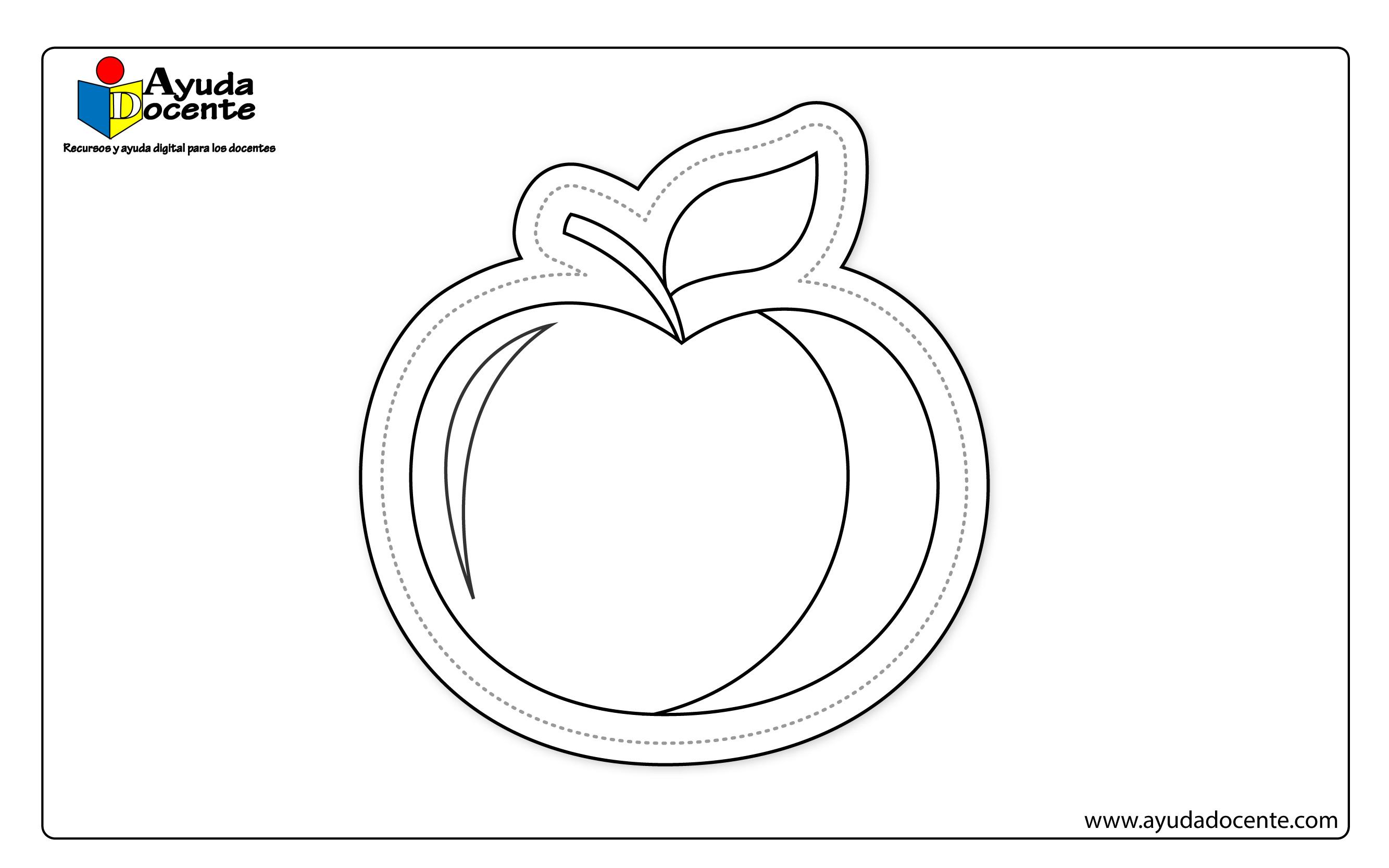 Dibujo frutas 05
