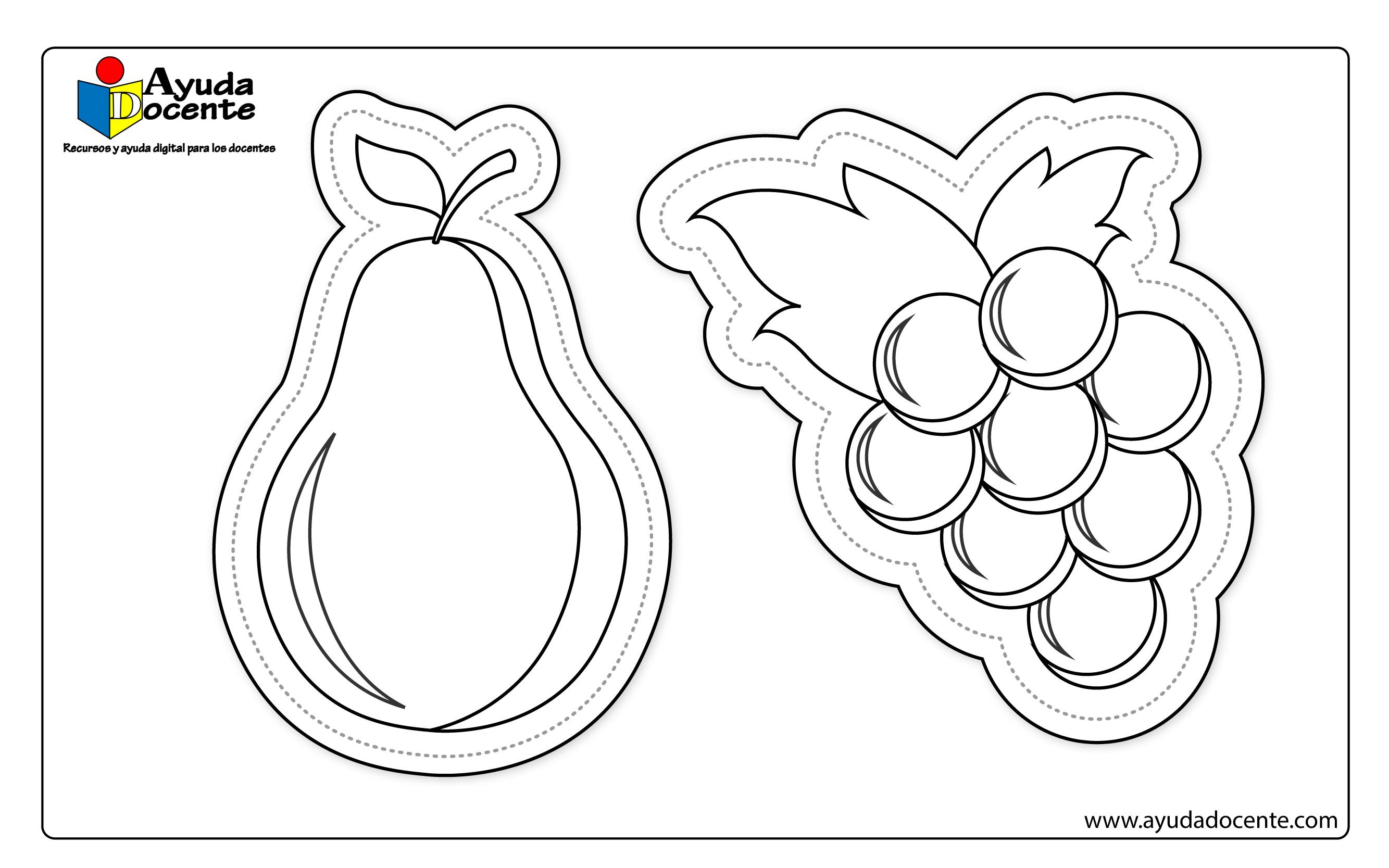 Dibujo frutas 06