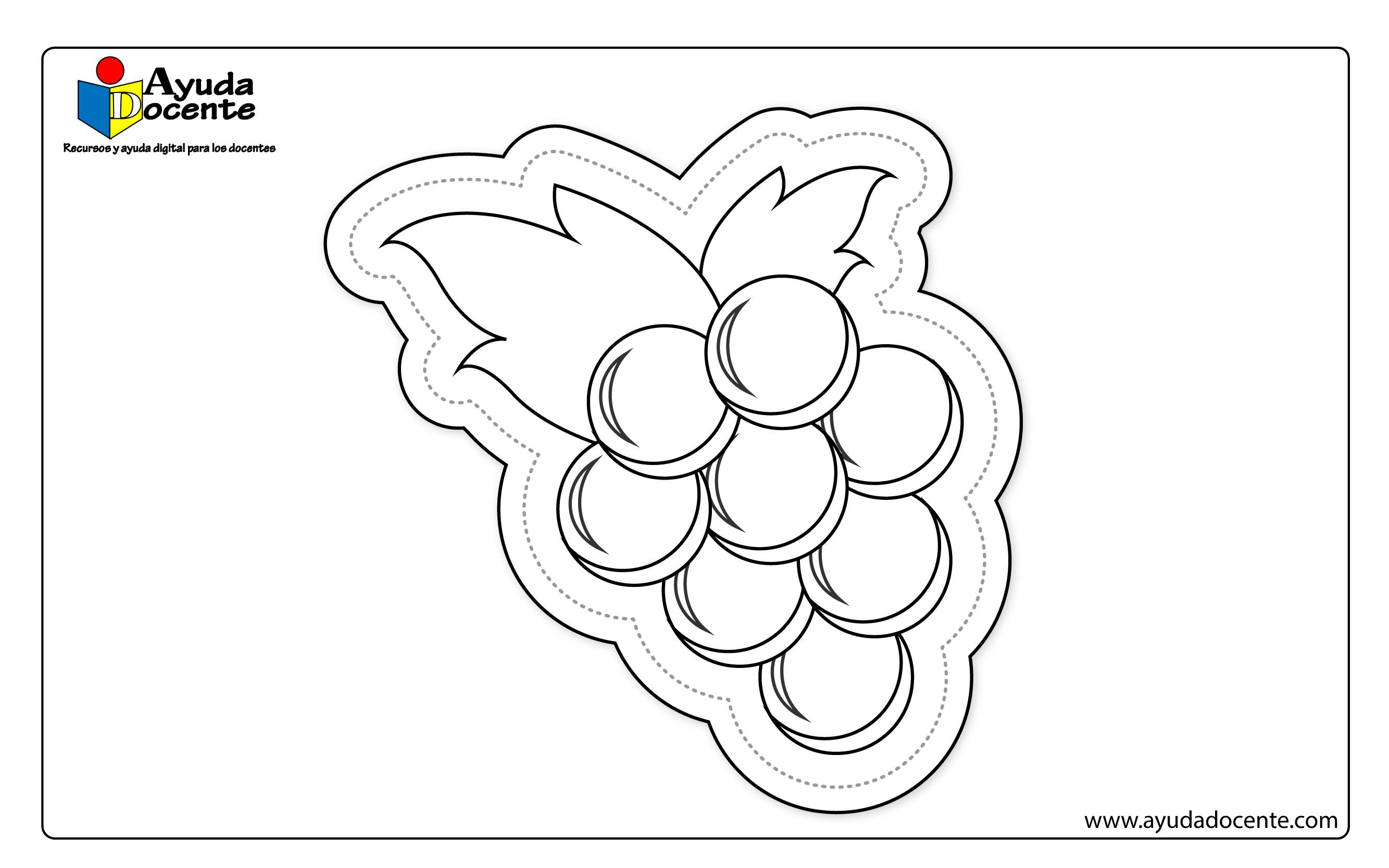 Dibujo de frutas 07