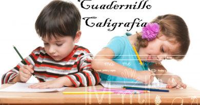 Cuaderno para ejercicios de caligrafía descarga en pdf