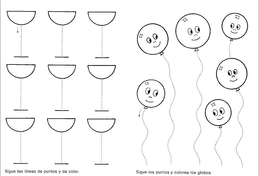 Cuadernos rubios preescolares en PDF