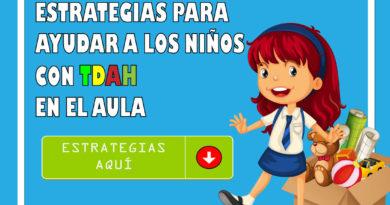 Estrategias para ayudar a los niños con TDHA en la escuela