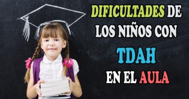 Dificultades de los niños con TDAH en la escuela