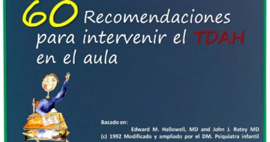 60 Recomendaciones para intervenir el TDAH en el Aula