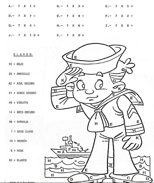 Ejercicios para practicar las tablas de multiplicar pdf - AYUDA DOCENTE