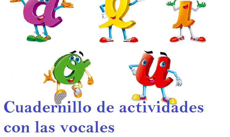 Cuadernillo De Actividades Para Trabajar Las Vocales Ayuda Docente
