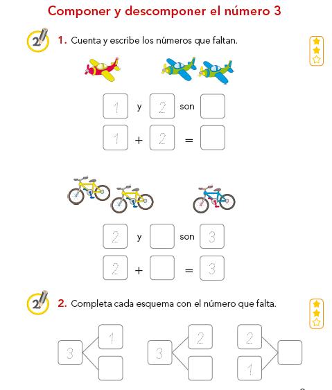 Cuadernillo de números para niños de 5 a 6 años pdf