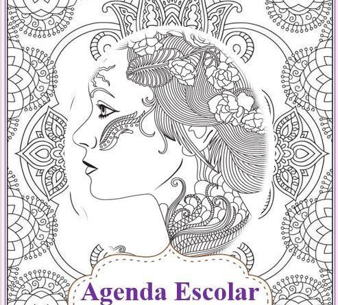 Agenda escolar Mandalas 2018-2019