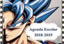 Agenda escolar 2018 Dragon Ball
