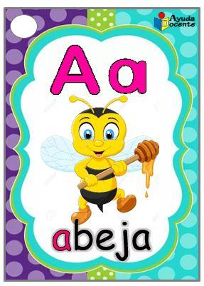 Cartilla de abecedario para imprimir