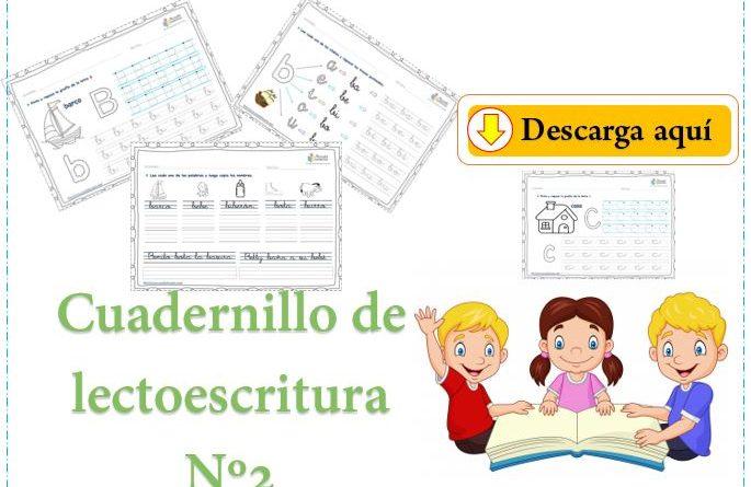 Cuadernillo de lectoescritura Nº2 pdf