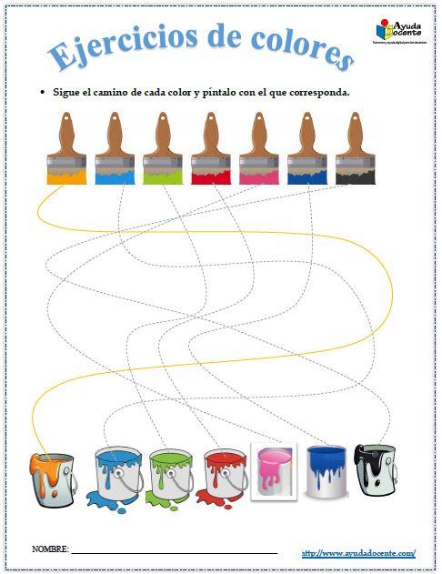 Cuadernillo para enseñar los colores pdf gratis
