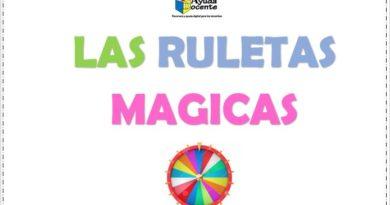 Ruletas mágicas para imprimir editables