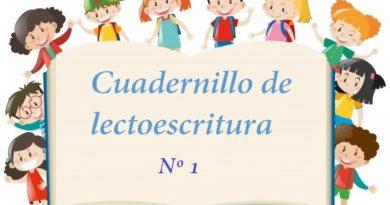 Cuadernillo de lectoescritura Nº1 pdf