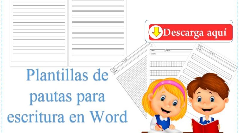 Plantillas de pautas para escritura en Word