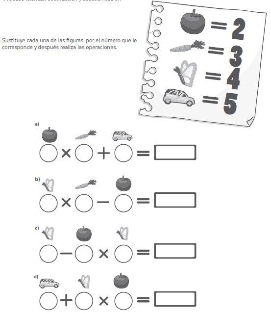 Ejercicios de razonamiento lógico matemático