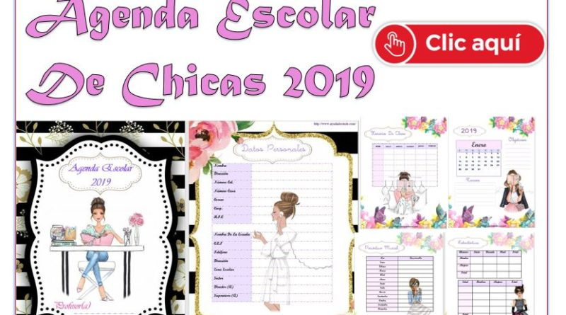 Agenda docente 2019-2020 para imprimir