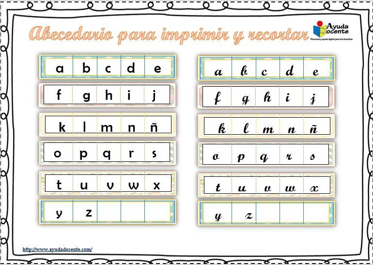Silabas para recortar y formar palabras pdf
