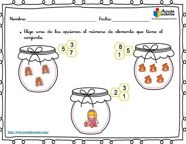Actividades de conteo para niños pdf