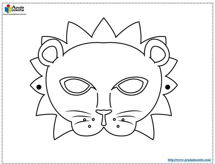 Máscaras de animales para imprimir y recortar