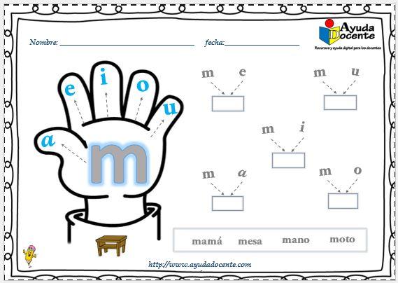 Cuadernillo de sílabas para imprimir pdf