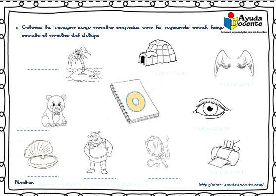 Cartilla de lectura con vocales para imprimir pdf