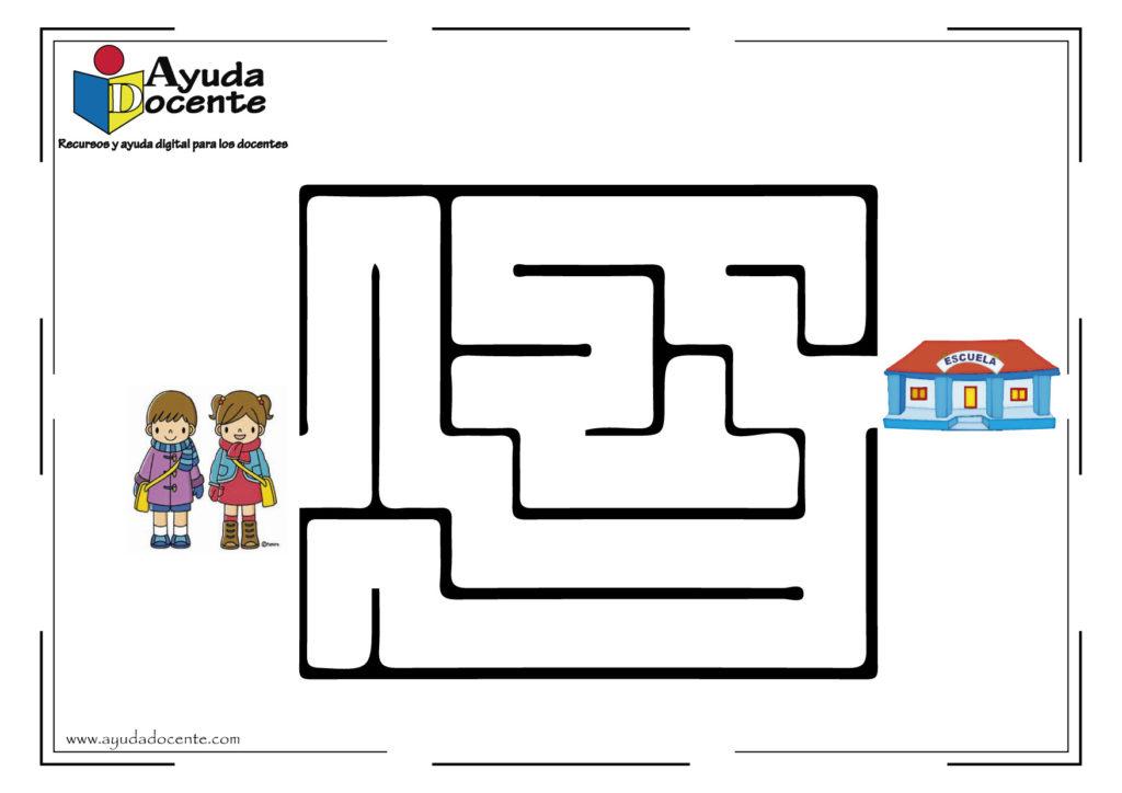 laberintos para niños fáciles