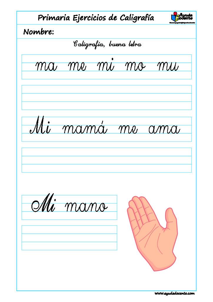 mejorar la letra caligrafia