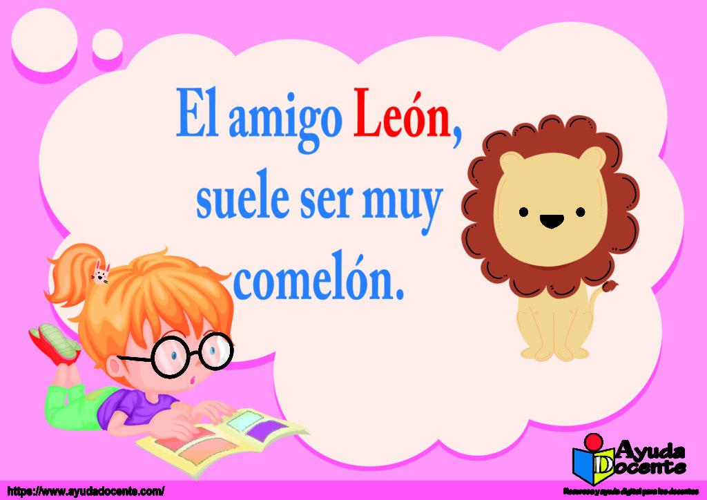 rima corta de león
