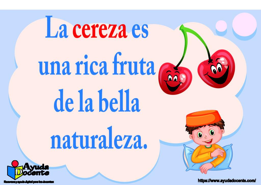rima corta de cereza fruta