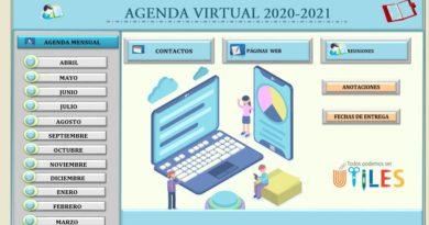 agenda electrónica excel
